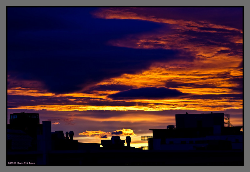 Burning sky II<br /> Bodø