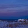Eastern evening wiew