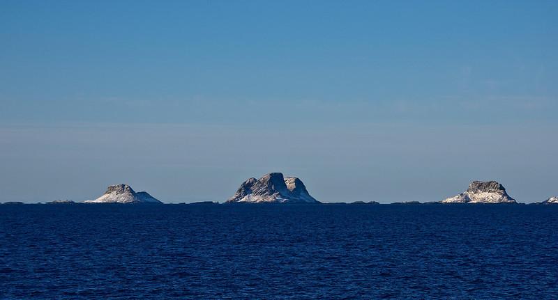 Seabird colony islands