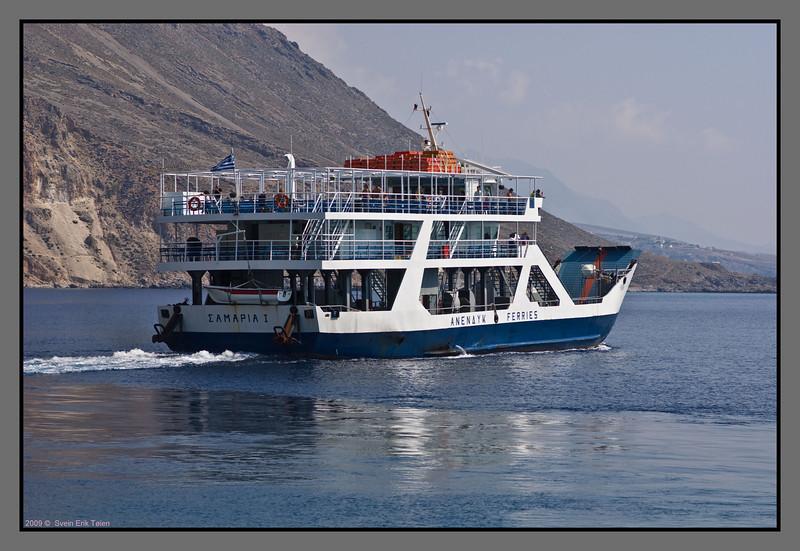 ... leaving for Chora Sfakion