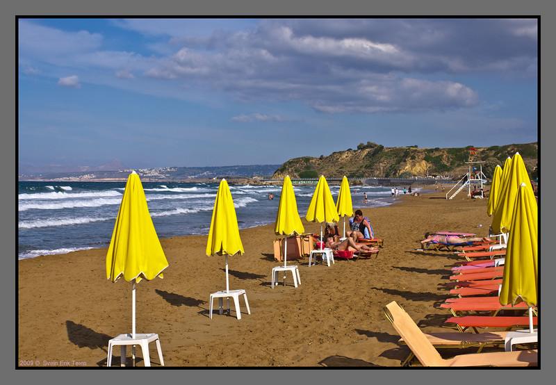 Afternoon at the beach, Kato Stalos
