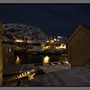 Winter night in Nyksund