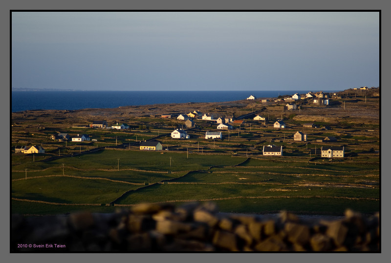 Little houses on the hill<br /> Inishmore