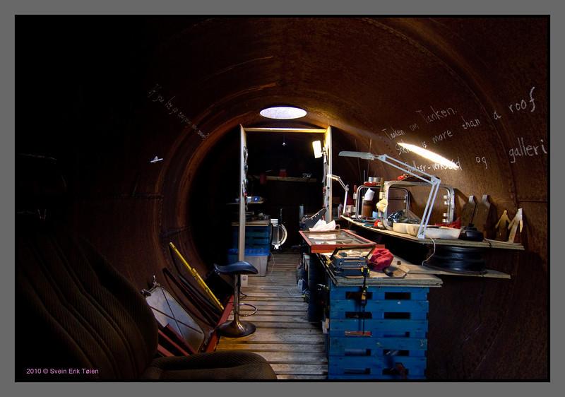 Tank interior I
