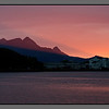 Midnight sun beaming in <br /> Bodø