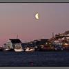 Pink morning <br /> Fishing vessels at Burøya, Bodø