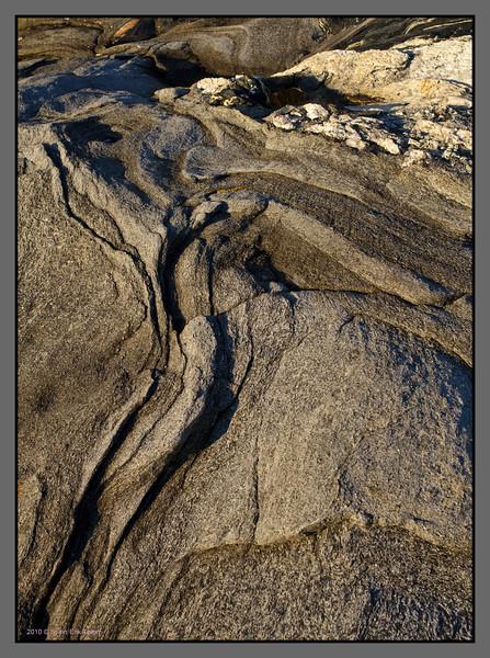 Folded rock<br /> Mjelle, Nordland