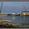 Ships waiting for better days<br /> Harbour, Kilronan