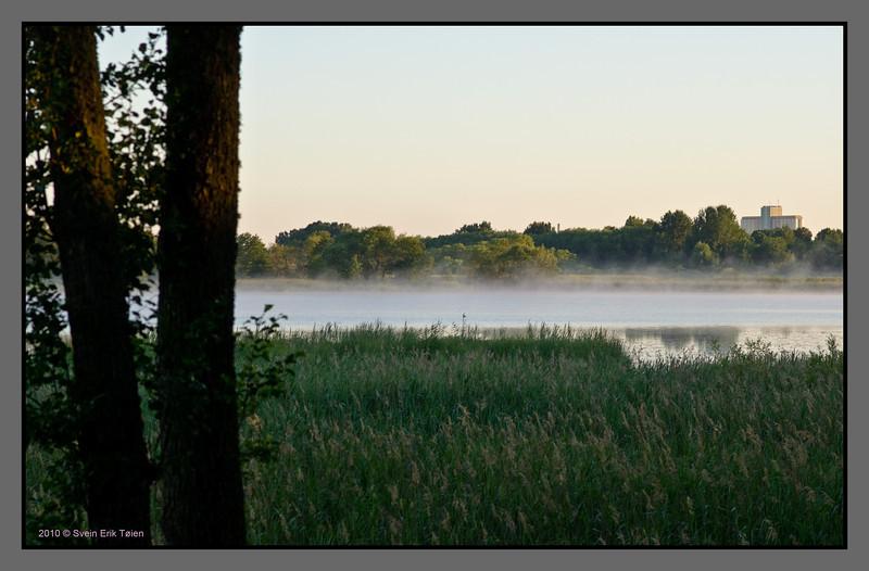Morning mist<br /> Jãgaråsen, Sweden