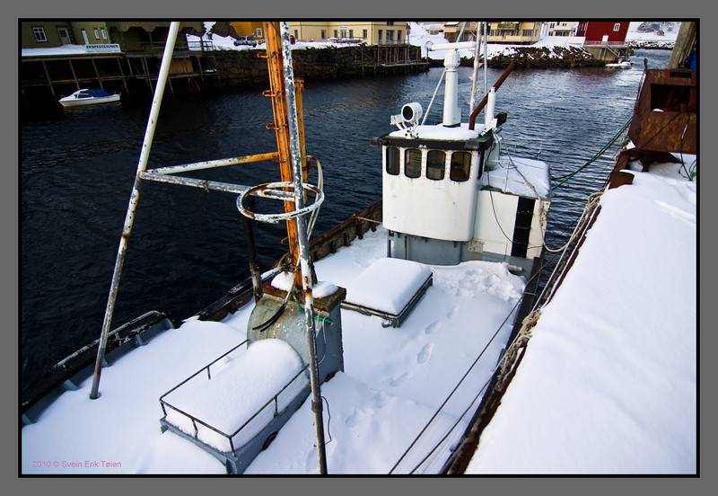 The harbour, Nyksund