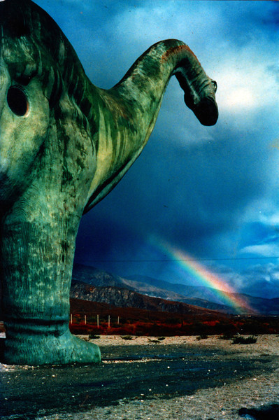 Dinasaur near Cabazon, CA