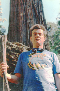 Gary in the Redwoods