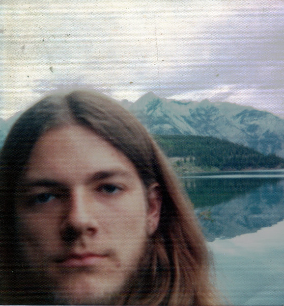 Self Portrait (Gary Edberg) at Two Jack Lake near Banff, Alberta, Canada - 1975