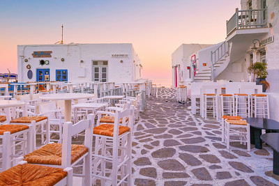 Naoussa village in Paros