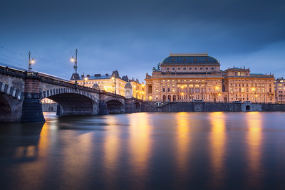 National Theatre in Prague.