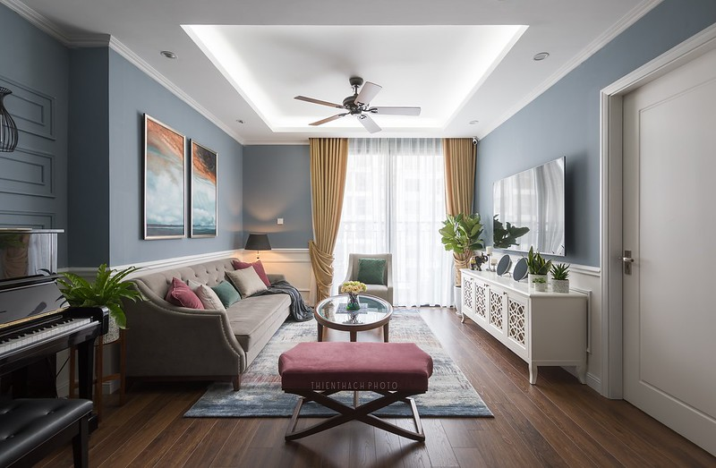 Times City Apartment Interior Design by Nội Thất Châu Á