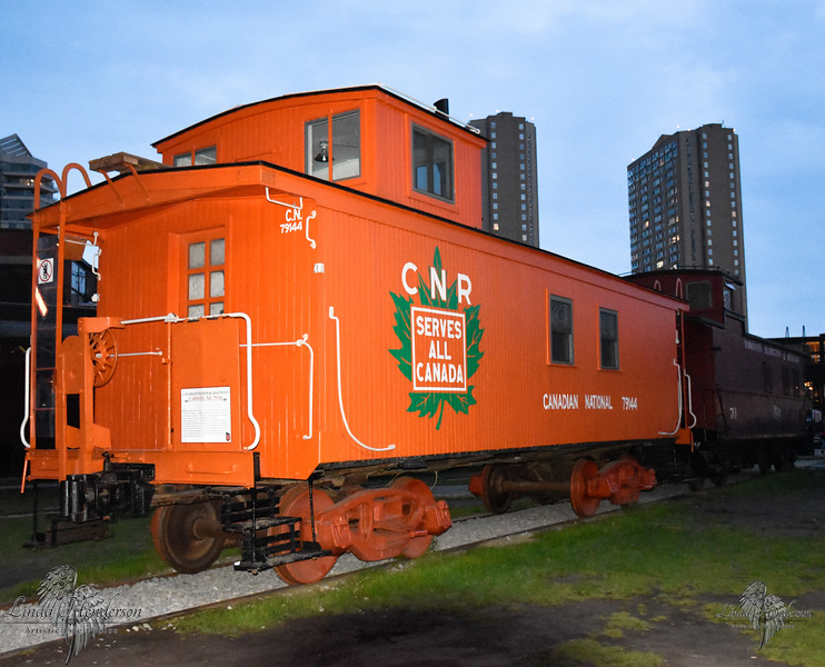 Canadian National, CNR, Caboose