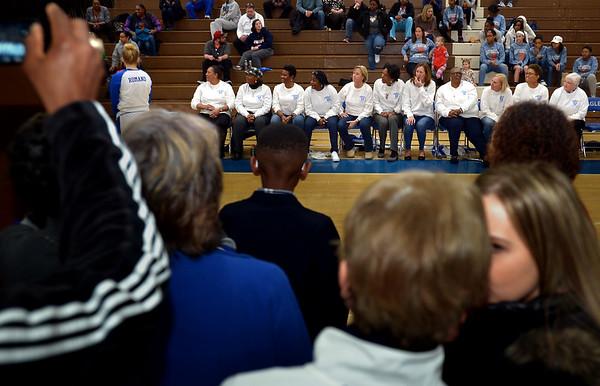 02/04/17 !977 Norristown Girls PIAA AAA Basketball Championship Team 40th anniversary