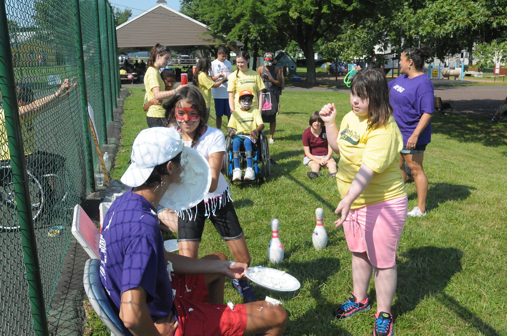 . Variety Club holds annual Annie Madden Sunshine Games for children with disabilities in Worcester August 4, 2017. Gene Walsh � Digital First Media