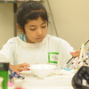 Children from ACLAMO attend art camp at Montgomery County Community College July 19, 2017. Gene Walsh — Digital First Media