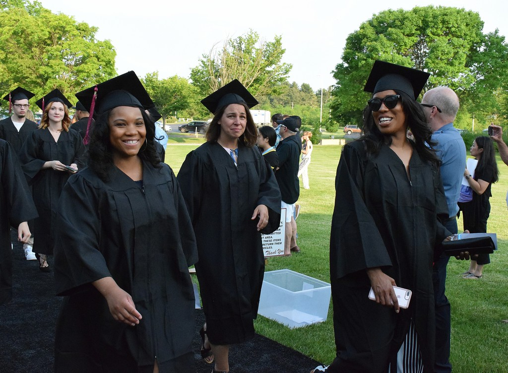 . One-thousand four-hundred and eighty seven granduates took part in MCCC 50th Commencement Thursday, May 18, 2017. Debby High for Digital First Media