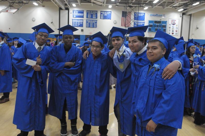 Norristown Are High School graduation