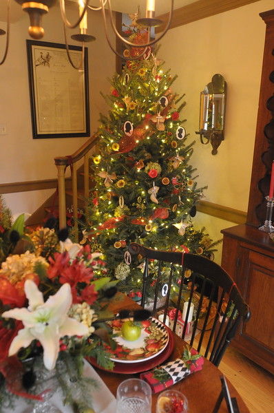 Norristown Garden Club Holiday Tour December 13, 2018. Gene Walsh — Digital First Media