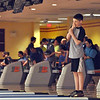Photo courtesy of Diane Hildebrand<br /> Jason Fuhrmeister from Montgomery County watchesas his ball strikes the pins during competition at the Summer Games.