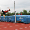 Photo courtesy of Scott Otterbein<br /> Sean DeWees complets in the high jump at the Penn State games.