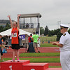 Photo courtesy of Scott Otterbein<br /> Madison Wingerter celebrates her medal win.