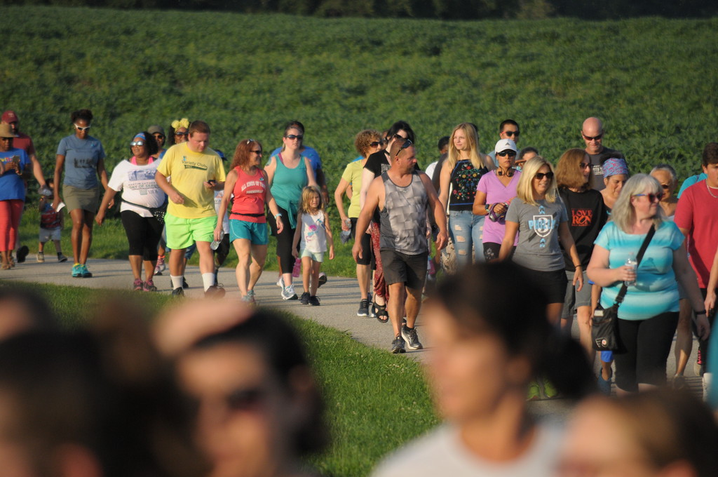 . Solidarity Run to support crime victim at Norristown Farm Park August 16, 2017. Gene Walsh � Digital First Media