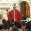 Special Mass held at St. Patrick's Church in Norristown to pray for victims of the earthquakes in Mexico and the hurricanes in the Caribbean September 21, 2017. Gene Walsh — Digital First Media