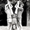 Summer 1984 CITs (Counselors in Training) Rob Hawk, David Bradshaw, and Gena Duff