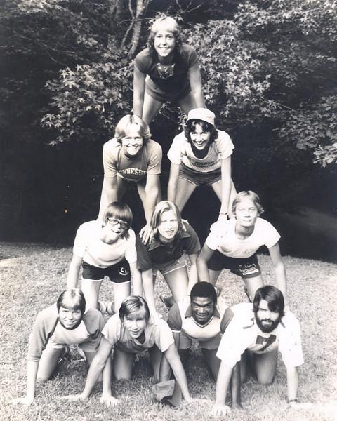 Joe Hollister, Jerry Weaver, Conrad Majors, Al Hammer, Linda Baker and other counselors