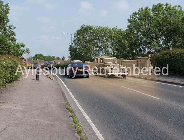 Churchill Avenue bridge, 1952 and 2016