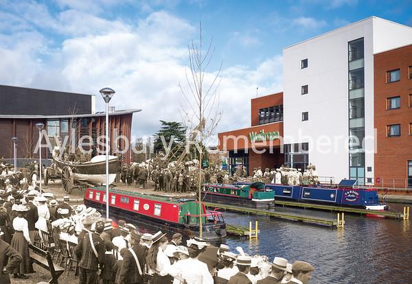 Lifeboat Saturday at Canal Basin, 1906 and 2016