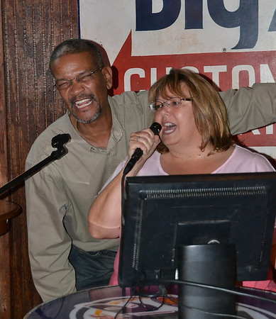 Tina Sheaves Karaoke and Auction at Kites Bar