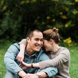 Tina and BJ Engagement