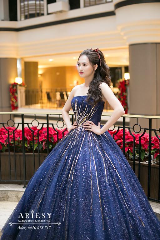 ARIESY,愛瑞思新娘秘書,新秘,送客馬尾新娘造型,君悅婚禮,台北新秘,林莉婚紗