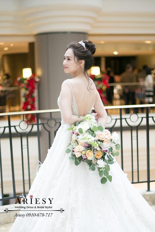 ARIESY,愛瑞思新娘秘書,新秘,白紗新娘皇冠造型,君悅婚禮,台北新秘,林莉婚紗
