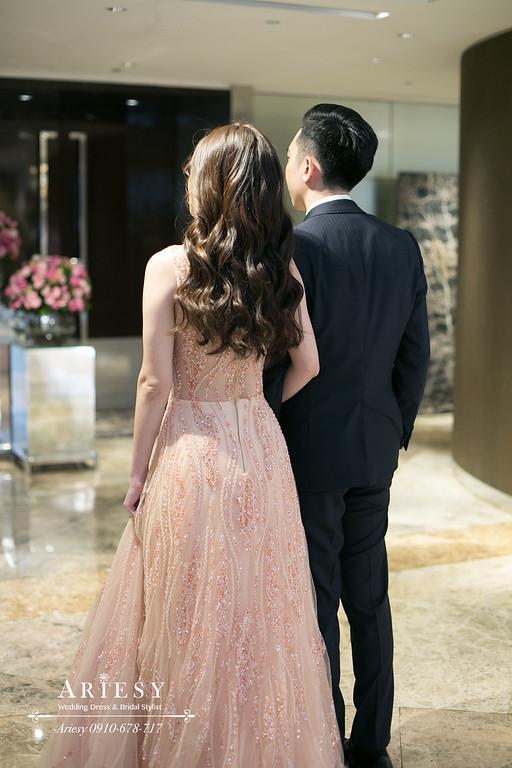 ARIESY,愛瑞思新娘秘書,新秘,敬酒新娘造型,君悅婚禮,台北新秘,林莉婚紗