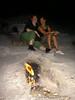 Tini und Uli vor den Flames
