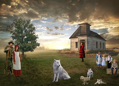 Prairie School-house