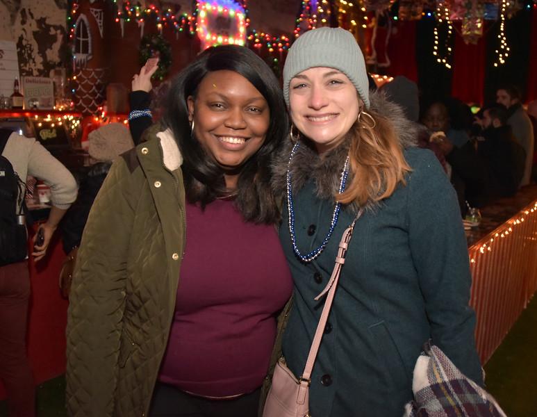 Nicolette Harrington and Sarah Baumann