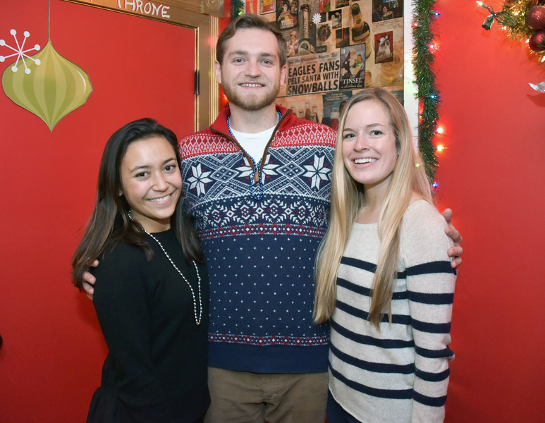 Antonia DePace, Ted O'Conner and Erin Gleason