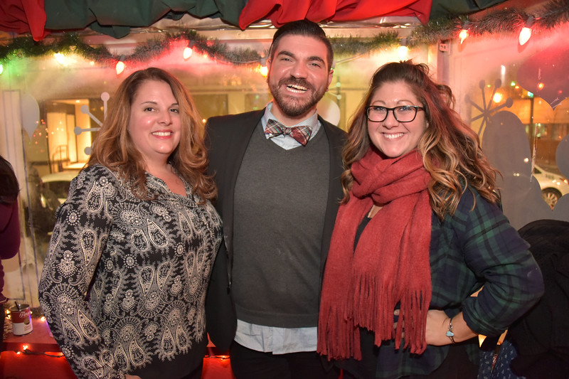 Christina Dowd, Executive Director of Philly Loves Beer, Brandon Szeker, Membership Director of Philly Loves Beer and Jenna Greb, Events Director of PLB