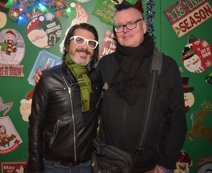 John Stanley and Robert Drake, WXPN who will be spinning at Tinsel Bar on weekends.