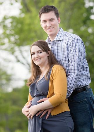 Jayne and John maternity