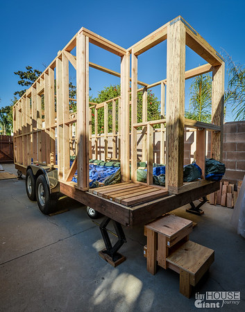 tiny house framing 2 - Tiny House Framing 2