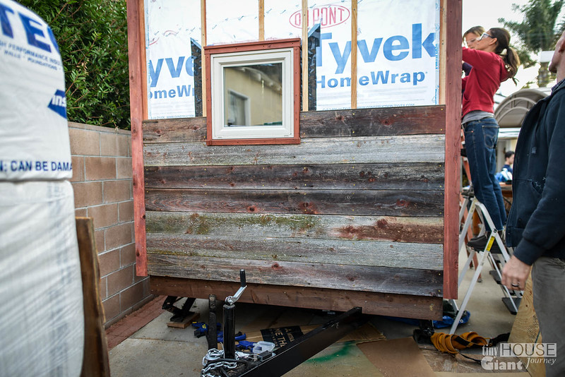 Tiny House Recaimed Wood Siding - 0017